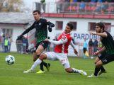 1. FK Příbram zdolal soupeře z Pardubic těsně před koncem utkání