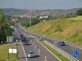 Dokončený úsek dálnice D4 u Příbrami je jedním ze sedmnácti projektů, které Ředitelství silnic a dálnic stihlo v letošním roce realizovat
