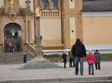 Novoroční výšlap na Svatou Horu vylákal desítky návštěvníků