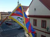 Město Příbram se zítra připojí kakci Vlajka pro Tibet