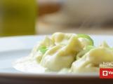 Vaříme s pribram.cz - Domácí ravioli s gorgonzolou