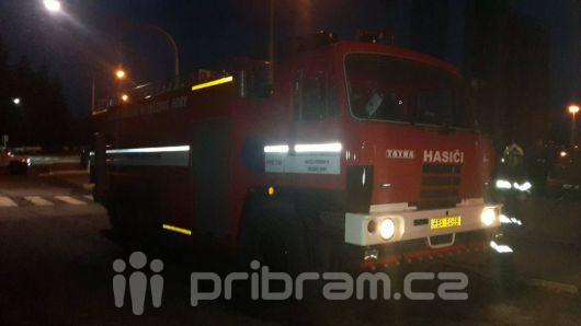 V Šachetní ulici hořela propanbutanová láhev