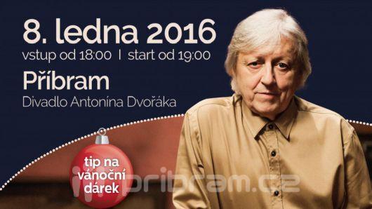 Václav Neckář vystoupí v lednu v Příbrami