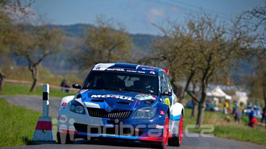 Příbramský Černý skončil na Rally šumava čtvrtý absolutně
