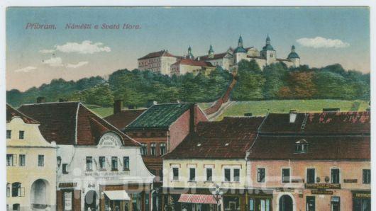 V galerii dnes začíná výstava pohlednic a obrazů z Příbrami