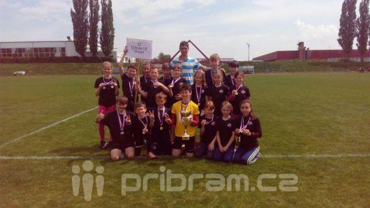 Základní škola 28. října jede na finále štafetového poháru