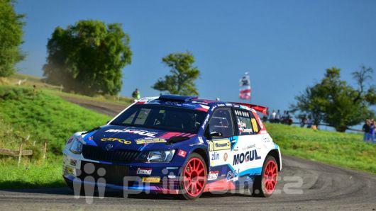 Příbramský jezdec Černý skončil na Barum Rally na třetím místě
