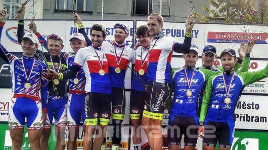 Příbramští cyklisté aktuálně vedou Český pohár mužů