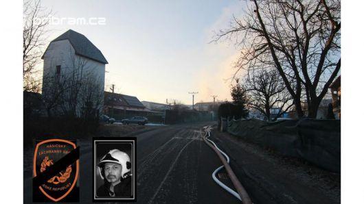Zítra v 9:55 se rozezní sirény jako pieta za tragicky zesnulého hasiče