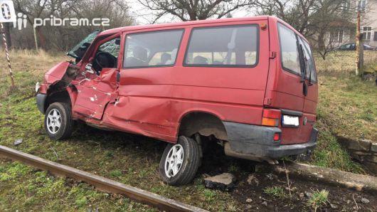 U Kosovy Hory smetl vlak dodávku