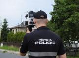 Příbramští strážníci budou měřit rychlost v Rožmitále a Lazsku