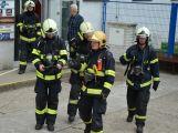 Obrazem: Taktické cvičení složek IZS na příbramském zimním stadionu (8)