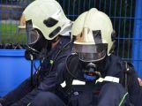 Obrazem: Taktické cvičení složek IZS na příbramském zimním stadionu (24)