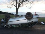 Hned šest nehod kvůli sněhu a ledu (1)