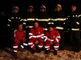Muž se propadl na ledě, hasiči ho zachránili (3)