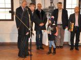 Stotisícím návštěvníkem Hornického muzea Příbram je Adélka Janáčková ze ZŠ Ořech v Praze (6)