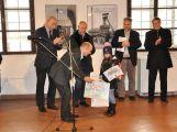 Stotisícím návštěvníkem Hornického muzea Příbram je Adélka Janáčková ze ZŠ Ořech v Praze (3)