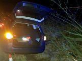Namol opilý řidič skončil ve stromě (2)