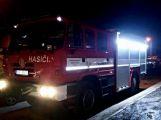 Před půlnocí na Štěpána vyjeli příbramští hasiči (3)