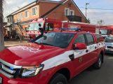 Právě teď: K nahlášenému požáru vyjelo několik hasičských jednotek ()