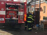 Právě teď: K nahlášenému požáru vyjelo několik hasičských jednotek (8)