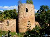 zřícenina gotického hradu Valdek z roku (1260) (2)