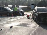 Dubnové nehody ve fotografiích (1)