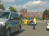 Opatrně u polikliniky Ravak, srazila se zde dvě vozidla ()