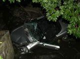 V Rožmitále p.T. havaroval řidič snažící se ujet policejní hlídce ()