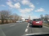 Aktuálně: Hromadná dopravní nehoda  se zraněním omezuje provoz na hlavním tahu silnice I/4 ve směru na Strakonice (1)
