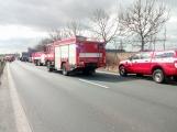 Aktuálně: Hromadná dopravní nehoda  se zraněním omezuje provoz na hlavním tahu silnice I/4 ve směru na Strakonice (2)