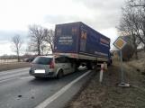 Aktuálně: Hromadná dopravní nehoda  se zraněním omezuje provoz na hlavním tahu silnice I/4 ve směru na Strakonice (3)