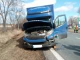 Aktuálně: Hromadná dopravní nehoda  se zraněním omezuje provoz na hlavním tahu silnice I/4 ve směru na Strakonice (5)
