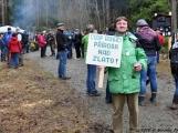 6. Jarní výstup na Petráškovu horu aneb překrásnou brdskou krajinou proti průzkumu a těžbě zlata (5)