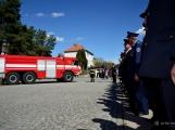 Hasiči z Kamýku nad Vltavou přivítali novou Tatru (46)