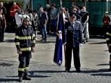 Hasiči z Kamýku nad Vltavou přivítali novou Tatru (50)