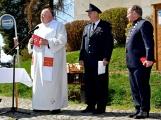 Hasiči z Kamýku nad Vltavou přivítali novou Tatru (80)