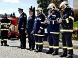 Hasiči z Kamýku nad Vltavou přivítali novou Tatru (85)