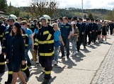 Hasiči z Kamýku nad Vltavou přivítali novou Tatru (35)