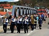 Hasiči z Kamýku nad Vltavou přivítali novou Tatru (38)