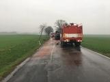 Aktuálně: Plameny zachvátily autobus (3)