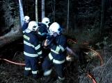 Právě teď: Výjezd příbramských hasičů si vyžádal požár trávy (6)