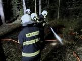 Právě teď: Výjezd příbramských hasičů si vyžádal požár trávy (5)