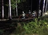Právě teď: Výjezd příbramských hasičů si vyžádal požár trávy (2)