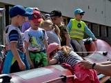 Hasičskou zbrojnici ovládly děti (1)
