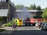 Aktuálně: Únik čpavku povolal hasiče na zimní stadion (33)