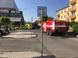 Aktuálně: Únik čpavku povolal hasiče na zimní stadion (31)