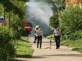 Aktuálně: Únik čpavku povolal hasiče na zimní stadion (29)