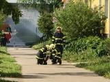 Aktuálně: Únik čpavku povolal hasiče na zimní stadion (28)