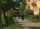 Aktuálně: Únik čpavku povolal hasiče na zimní stadion (27)